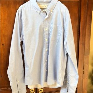 Abercrombie & Fitch Shirts - Men's Abercrombie Fitch Light Blue Button Down XL
